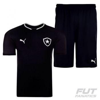 Camisa Puma Botafogo II 2015 + Calção