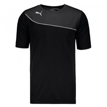 Camisa Puma Br Momentta Shirt Preta Mesh
