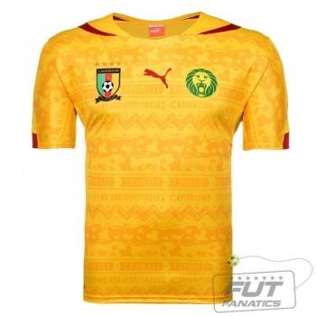 Camisa Puma Camarões Away 2014