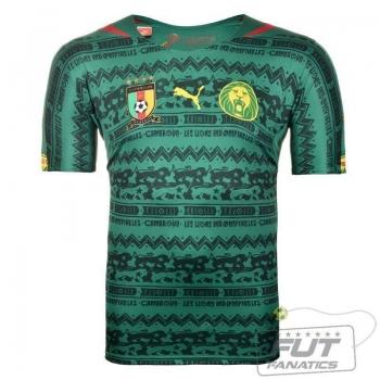 Camisa Puma Camarões Home 2014