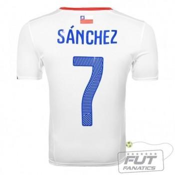 Camisa Puma Chile Away 2014 Sànchez 7