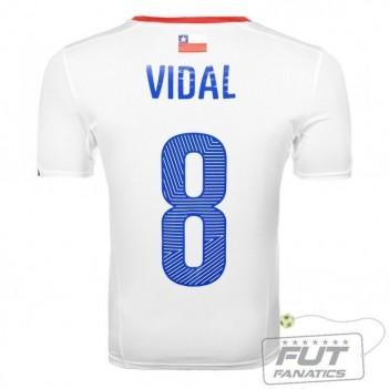 Camisa Puma Chile Away 2014 Vidal 8