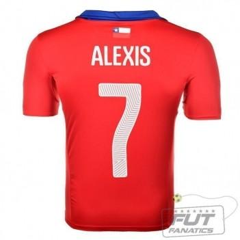 Camisa Puma Chile Home 2014 7 Alexis