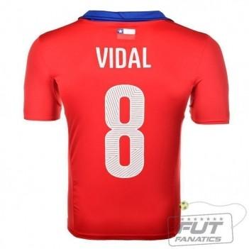 Camisa Puma Chile Home 2014 8 Vidal