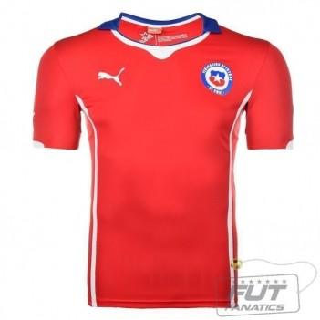 Camisa Puma Chile Home 2014