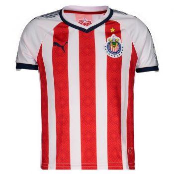 Camisa Puma Chivas Guadalajara Home 2018 Juvenil