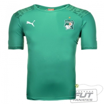 Camisa Puma Costa do Marfim Away 2014