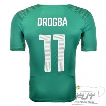 Camisa Puma Costa Do Marfim Away 2014 11 Drogba