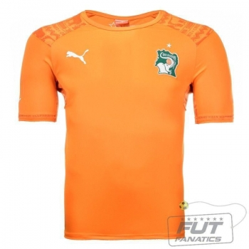 Camisa Puma Costa Do Marfim Home 2014