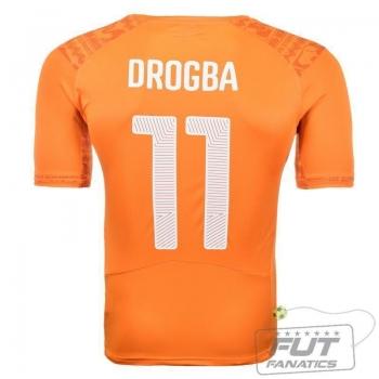 Camisa Puma Costa Do Marfim Home 2014 11 Drogba