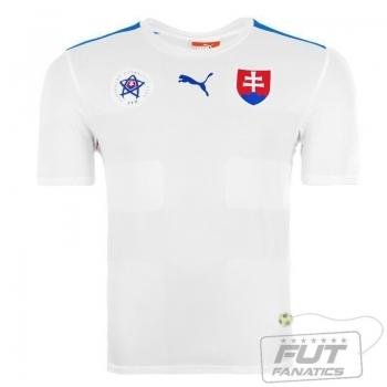 Camisa Puma Eslováquia Home 2015