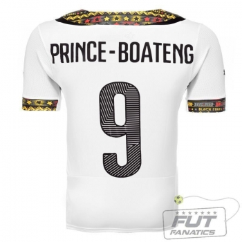 Camisa Puma Gana Home 2014 9 Prince Boateng