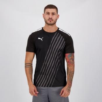 Camisa Puma Individual Pacer Preta