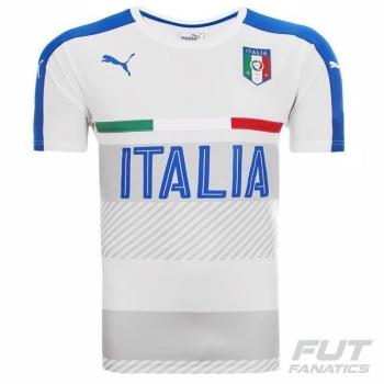 Camisa Puma Itália Treino 2016 Branca