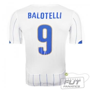 Camisa Puma Itália Away 2014 9 Balotelli