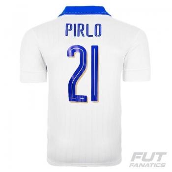 Camisa Puma Itália Away 2016 21 Pirlo