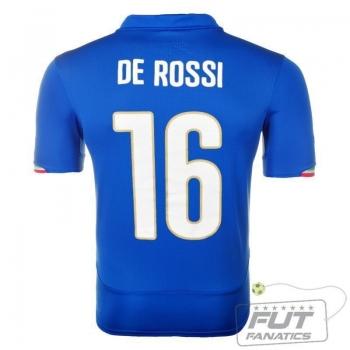 Camisa Puma Italia Home 2014 16 De Rossi