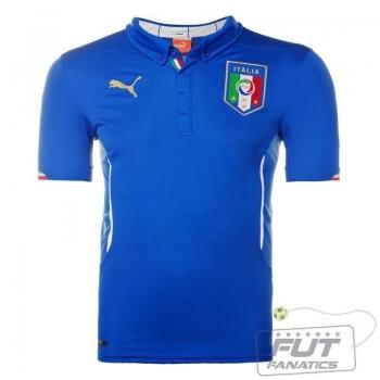 Camisa Puma Itália Home 2014