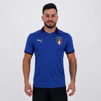 Camisa Puma Itália Home 2021