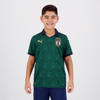 Camisa Puma Itália Third Renaissance 2020 Juvenil