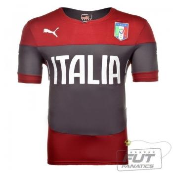 Camisa Puma Itália Treino 2014 Vermelho