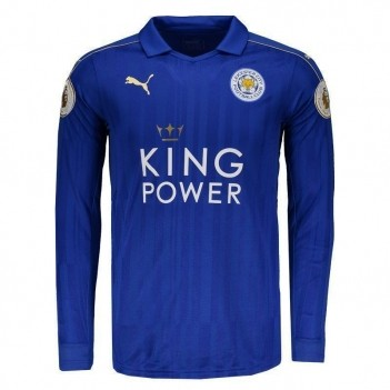 Camisa Puma Leicester City Home 2017 Patch Premier League
