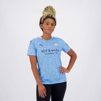 Camisa Puma Manchester City Home 2021 Feminina
