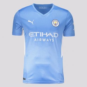 Camisa Puma Manchester City Home 2022 Juvenil