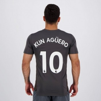 Camisa Puma Manchester City Stadium League 10 Kun Agüero
