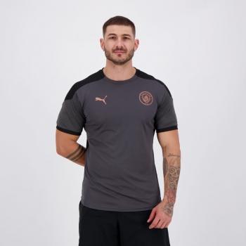 Camisa Puma Manchester City Treino 2021 Preta