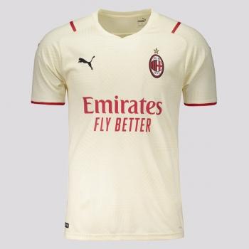 Camisa Puma Milan Away 2022 Juvenil