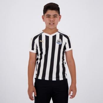 Camisa Puma Newcastle Home 2019 Juvenil