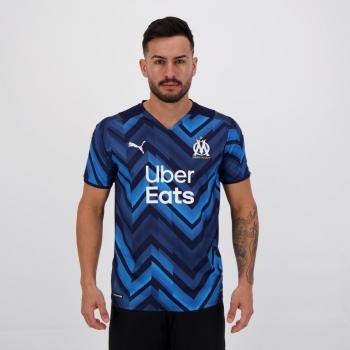 Camisa Puma Olympique de Marseille Away 2022
