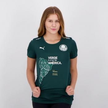 Camisa Puma Palmeiras Comemorativa Libertadores Feminina