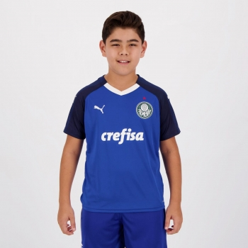 Camisa Puma Palmeiras Goleiro I 2019 Juvenil