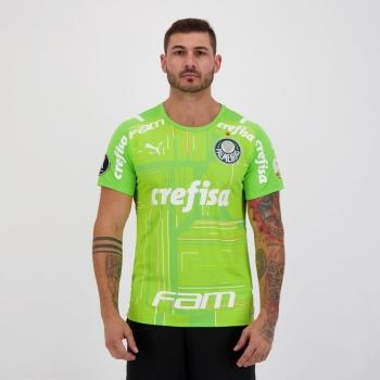 Camisa Puma Palmeiras Goleiro II 2021 Libertadores