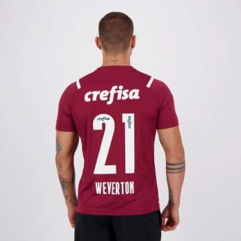 Camisa Puma Palmeiras Goleiro III 2021 21 Weverton