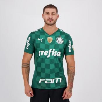 Camisa Puma Palmeiras I 2021 Campeão Libertadores