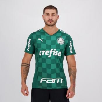 Camisa Puma Palmeiras I 2021 com Patrocínio