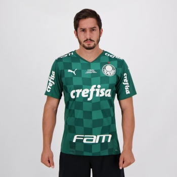 Camisa Puma Palmeiras I 2021 Final Copa do Brasil