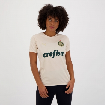 Camisa Puma Palmeiras III 2021 Feminina