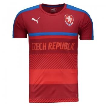 Camisa Puma República Tcheca Treino 2016 Vermelha