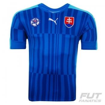 Camisa Puma Eslováquia Away 2016
