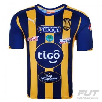 Camisa Puma Sportivo Luqueno Home 2015