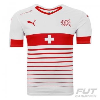 Camisa Puma Suíça Away 2016