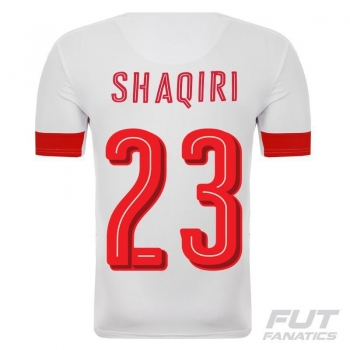 Camisa Puma Suíça Away 2016 23 Shaqiri