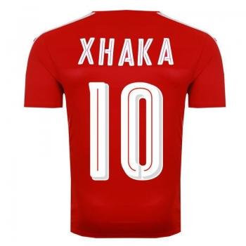 Camisa Puma Suíça Home 2016 10 Xhaka