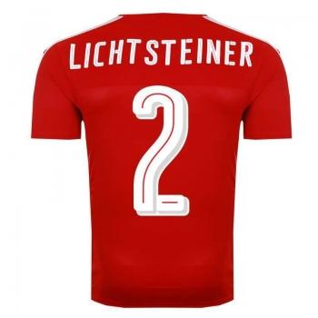 Camisa Puma Suíça Home 2016 2 Lichtsteiner