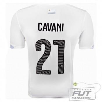 Camisa Puma Uruguai Away 2014 21 Cavani