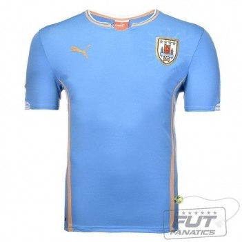 Camisa Puma Uruguai Home 2015